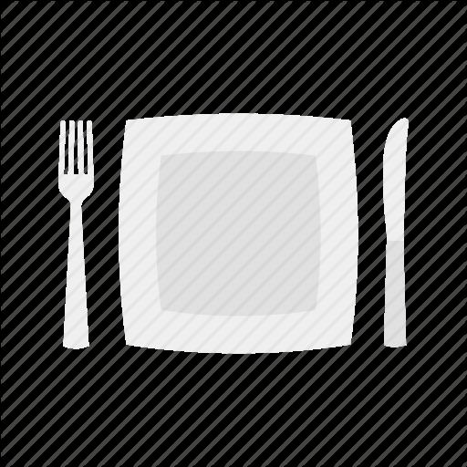 512x512 19 Vector Cutlery Dinner Plate Huge Freebie! Download For