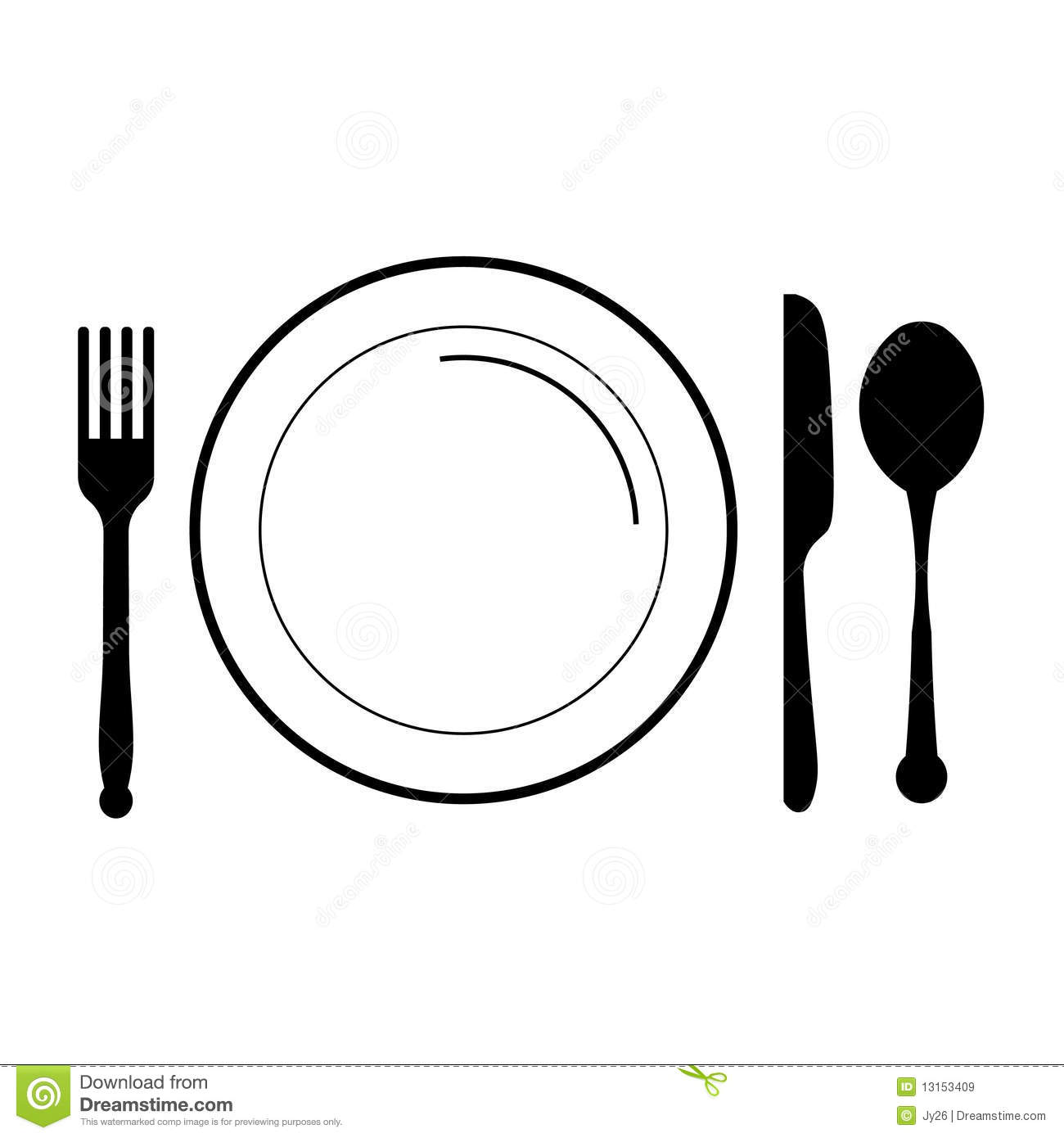 1300x1390 Cutlery Clipart Meal Plate Free Collection Download And Share