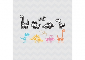 285x200 Dinosaur Skeleton Free Vector Graphic Art Free Download (Found 569