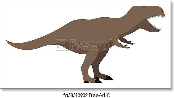 560x316 Free Art Print Of Cartoon Dinosaur Vector Illustration. Dinosaur