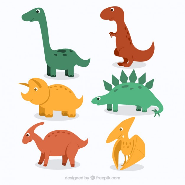 626x626 Drawn Dinosaur Vector