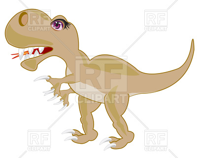 400x320 Prehistoric Animal Dinosaur Vector Image Vector Artwork Of Signs