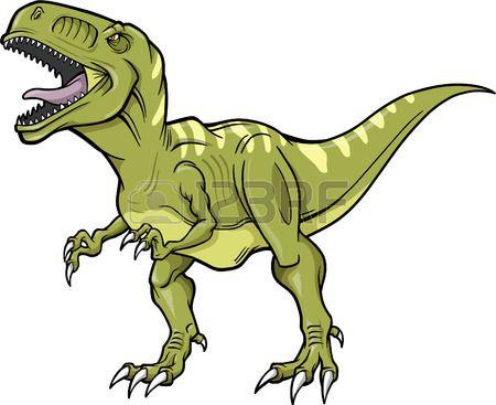 450x367 T Rex Dinosaur Vector Illustration In 2018 Animal Art