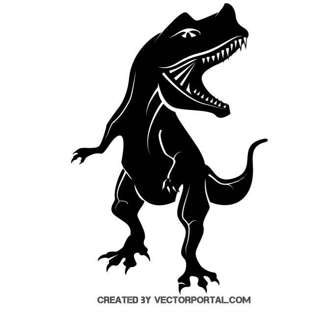 660x660 Dinosaur Vector Graphics