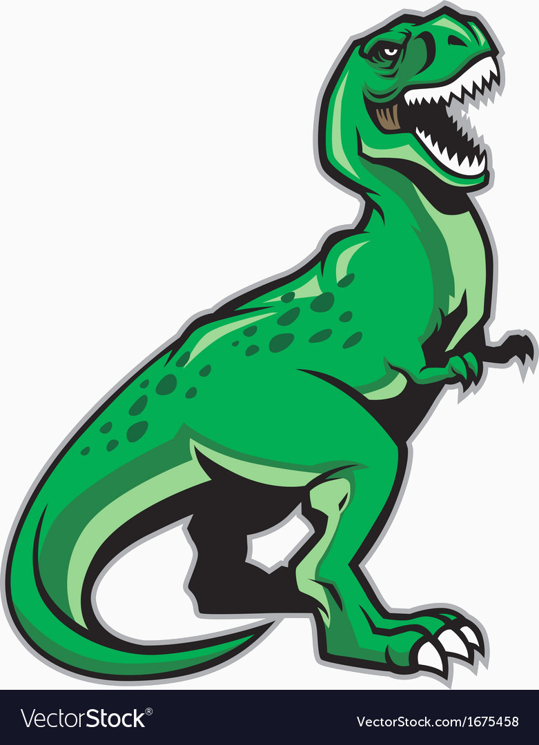 781x1080 Dinosaur Vector Beautiful Trex Dinosaur Royalty Free Vector Image
