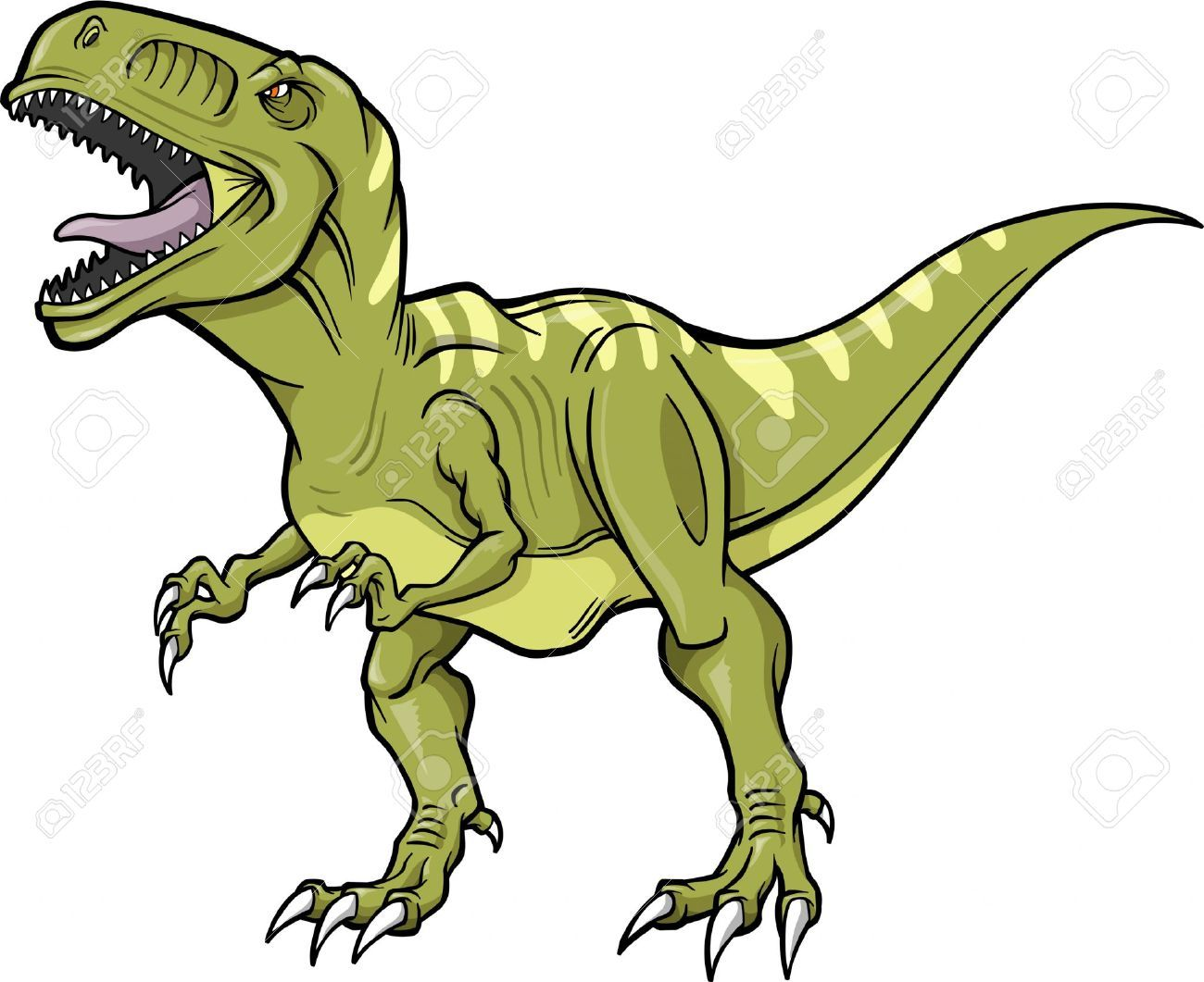1300x1061 Dinosaur Vector Stock Illustrations, Cliparts And Royalty Free