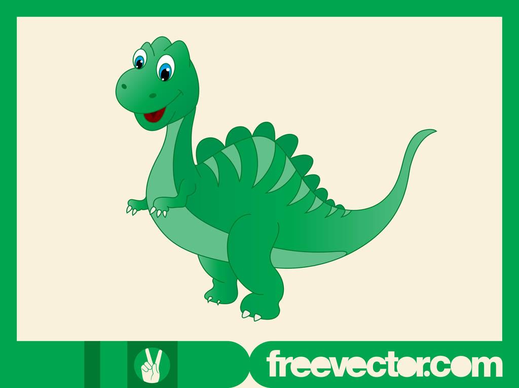 1024x765 Happy Cartoon Dinosaur Vector Art Amp Graphics