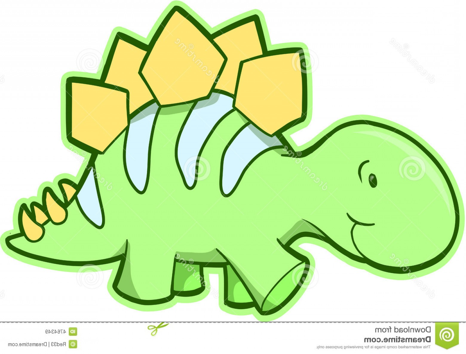 1560x1185 Royalty Free Stock Images Stegosaurus Dinosaur Vector Image