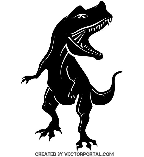 600x650 Vector Clipart Dinosaur