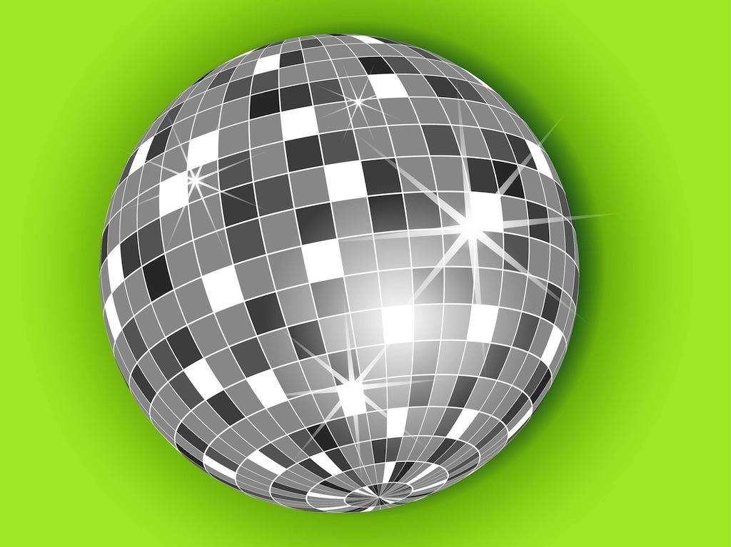 1024x767 Disco Ball Vector