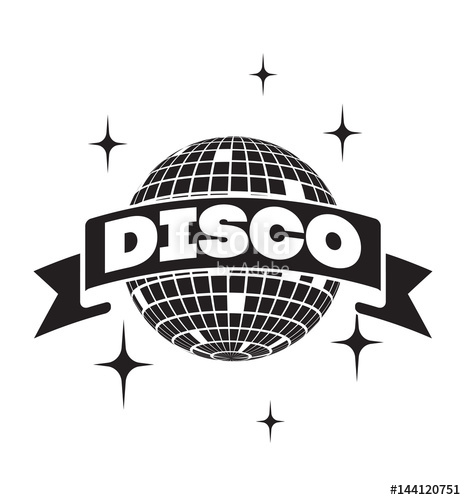 466x500 Disco Ball Vector Icon Stock Image And Royalty Free Vector Files
