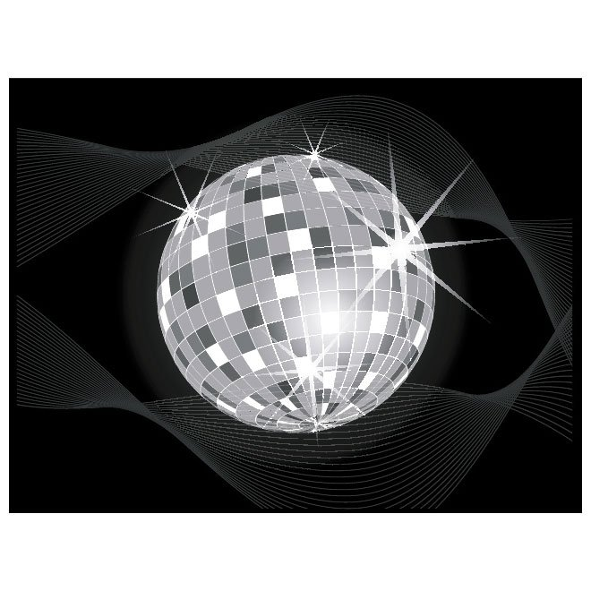 660x660 Free Disco Ball Vector.eps Psd Files, Vectors Amp Graphics