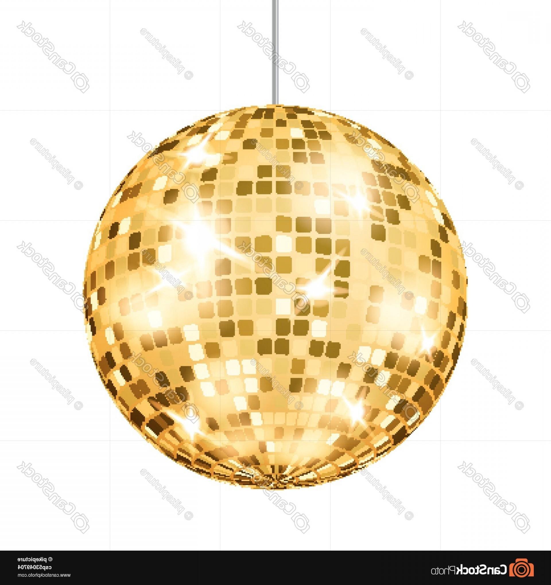 1920x2040 Gold Disco Ball Vector Dance Club Retro Sohadacouri