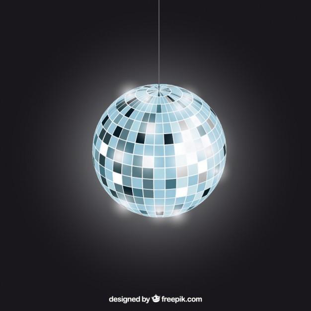 626x626 Bright Disco Ball Vector Premium Download