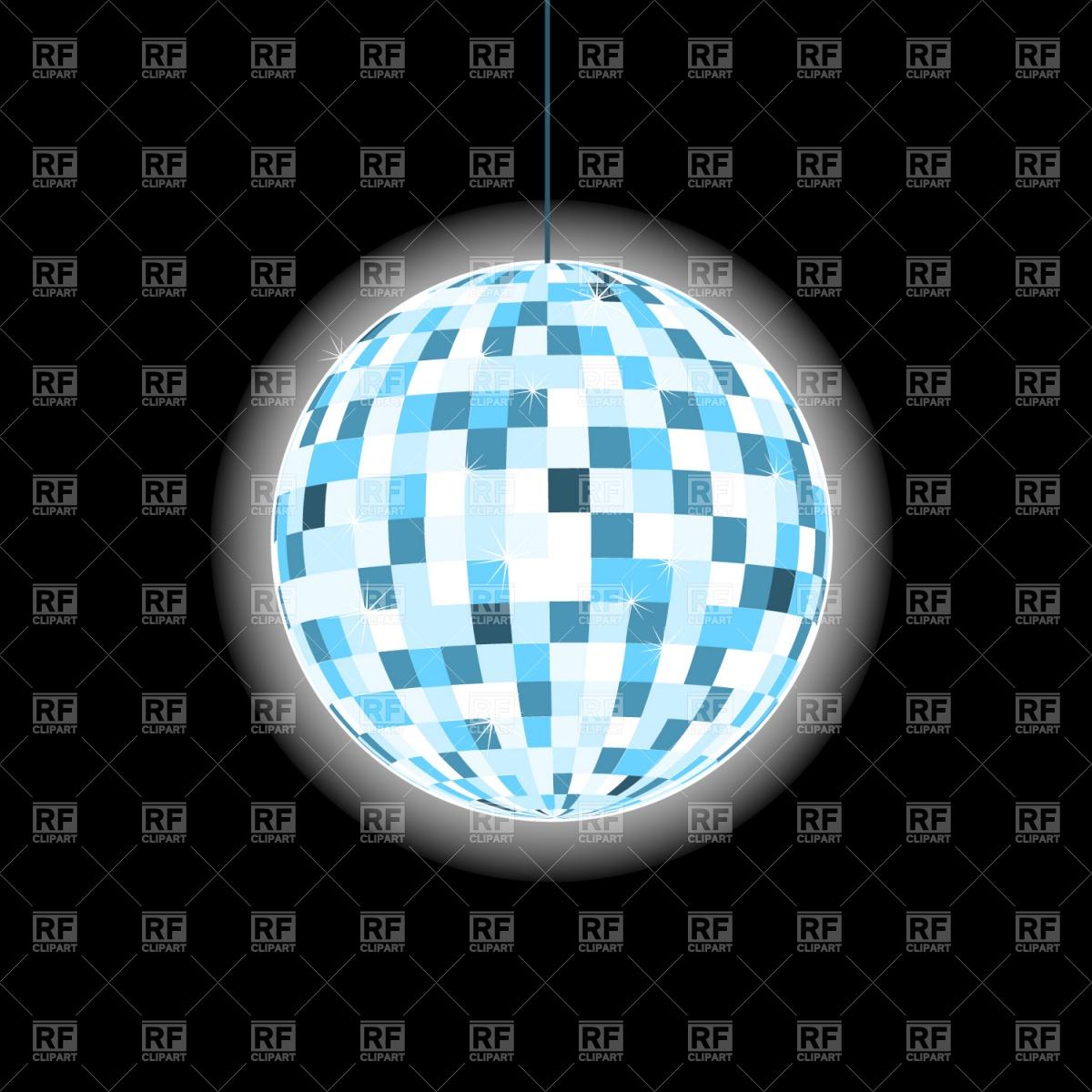 1200x1200 Disco Ball Vector Image Vector Artwork Of Objects Prague