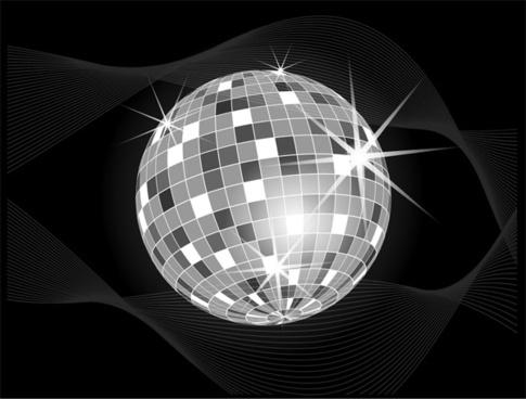 485x368 Disco Ball Vector Art Free Vector Download (216,984 Free Vector
