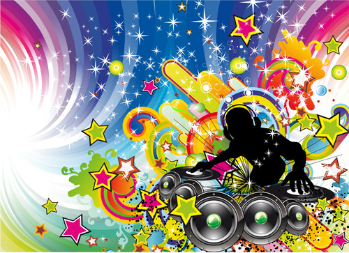 500x363 Disco Free Vector Download (402 Free Vector) For Commercial Use