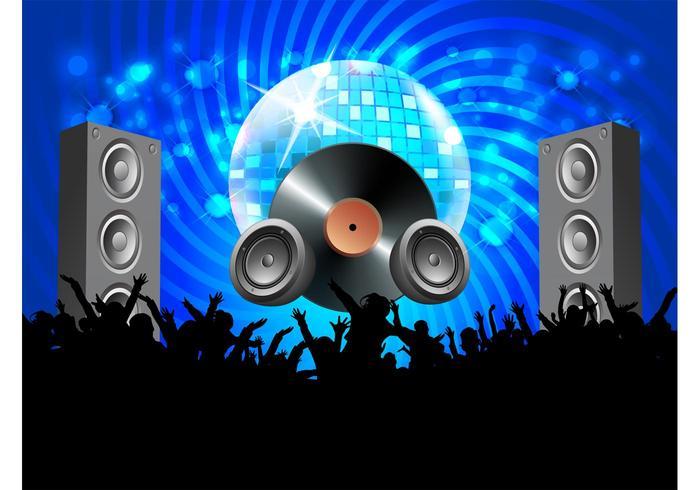 700x490 Vector Disco Party