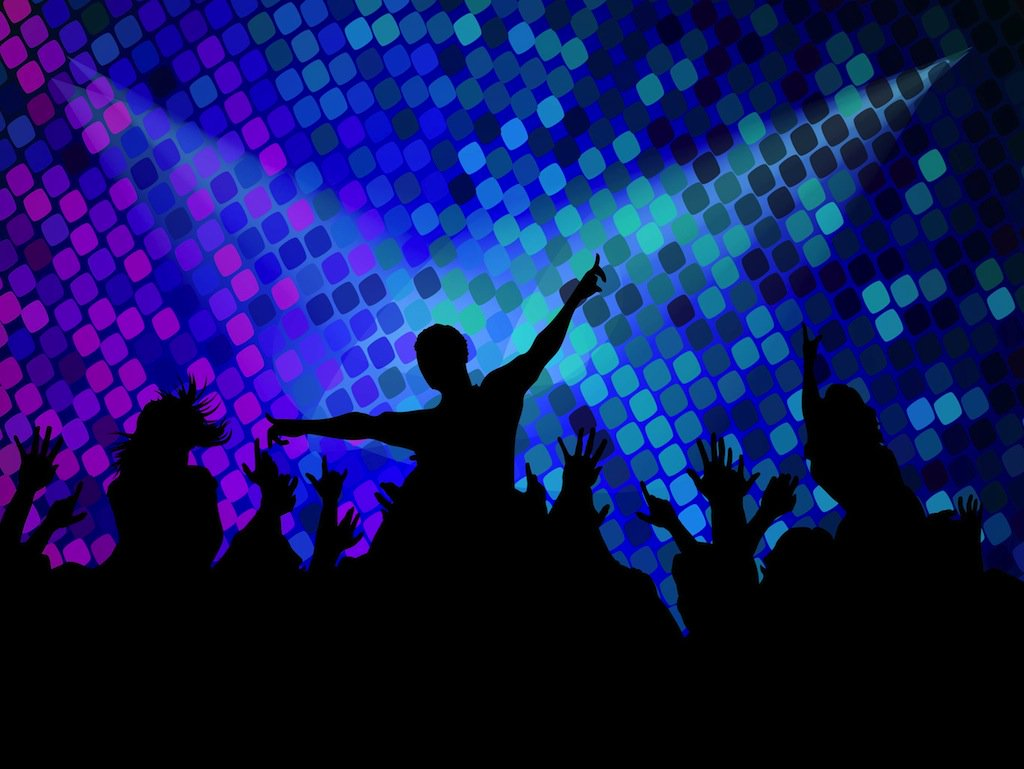 1024x769 Disco Party Footage Vector Art Amp Graphics