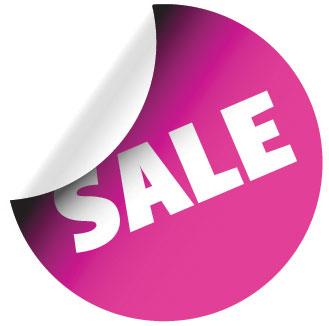 329x326 Discount Vector Labels