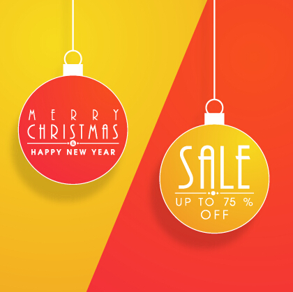 420x419 Christmas Ball Discount Vector Background Art Free Download