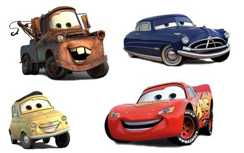 Disney Cars Vector