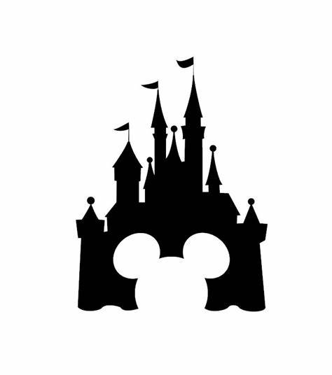 Disney Castle Logo Vector
