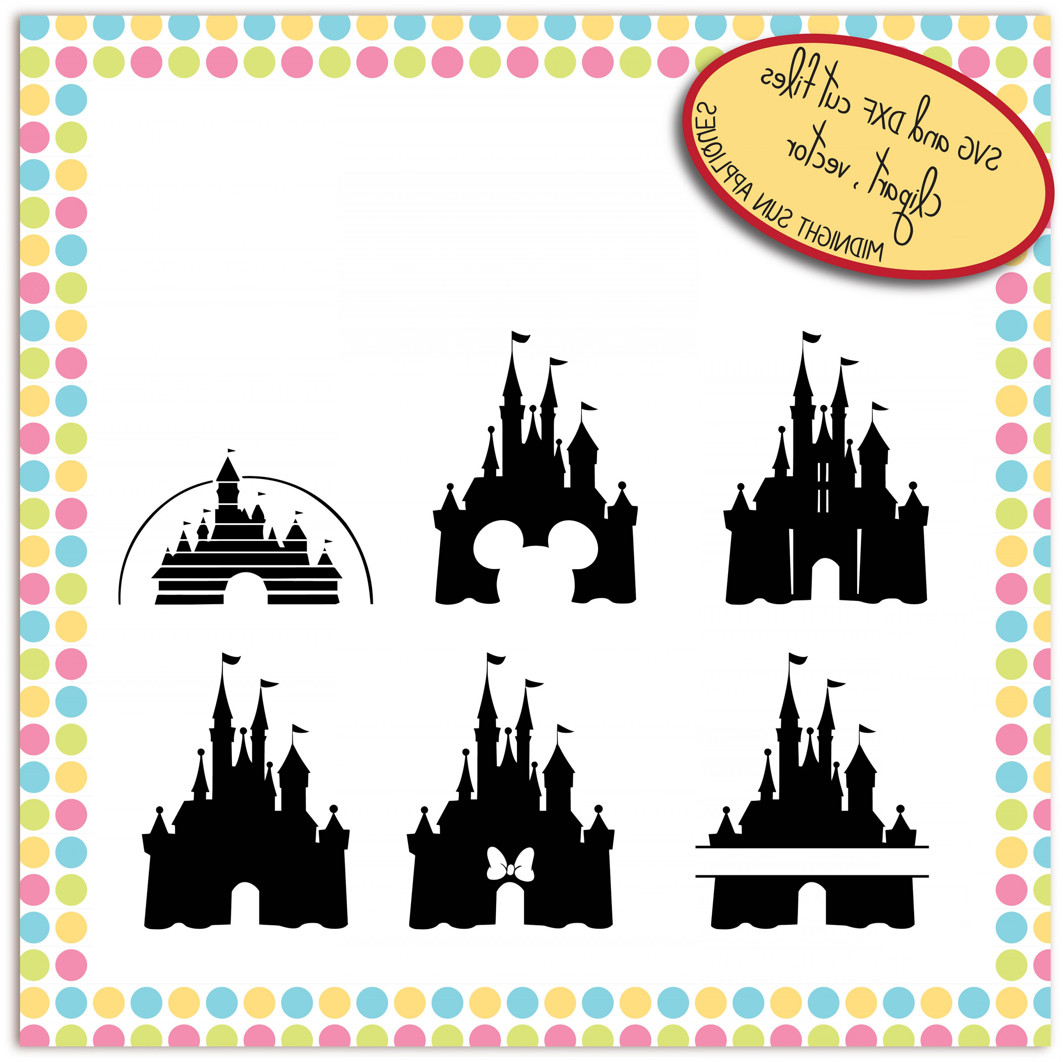 3600x3596 Disney Castle Svg Disney Svg Mickey Arenawp