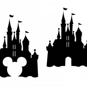 300x300 Disney Castle Svg Castle Clipart Disney Shopatcloth