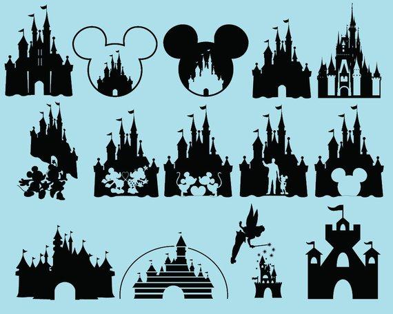 570x456 Disney Castle Svg Disney Svg Mickey Svg Mickey Mouse Svg Etsy