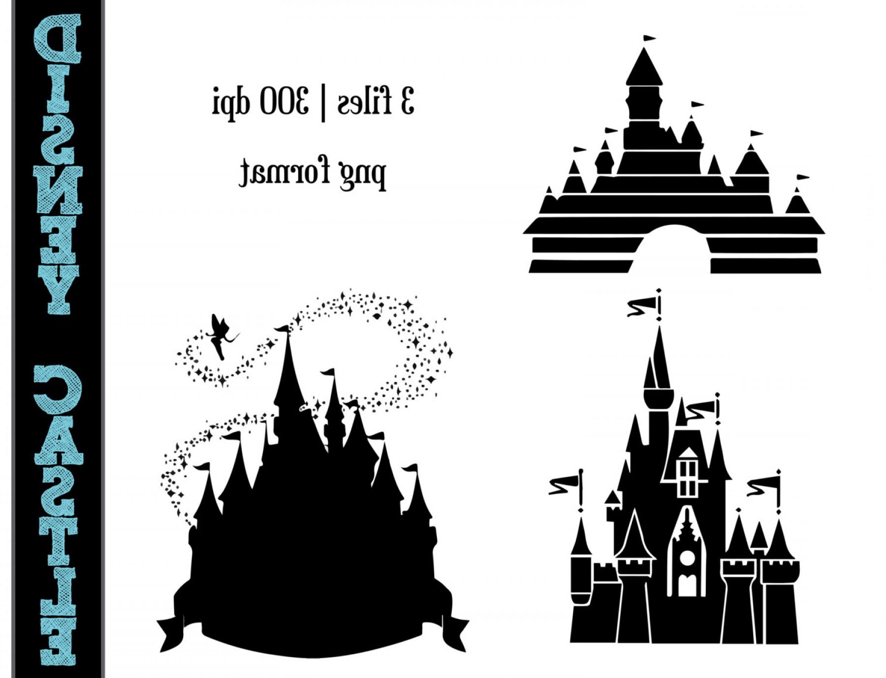1800x1378 Mesmerizing Disney Castle Silhouette Clip Art Spooky Vector