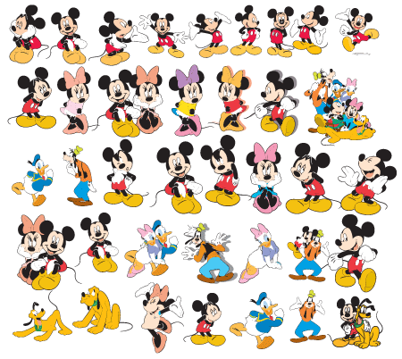 Disney Characters Vector at GetDrawings com | Free for personal use