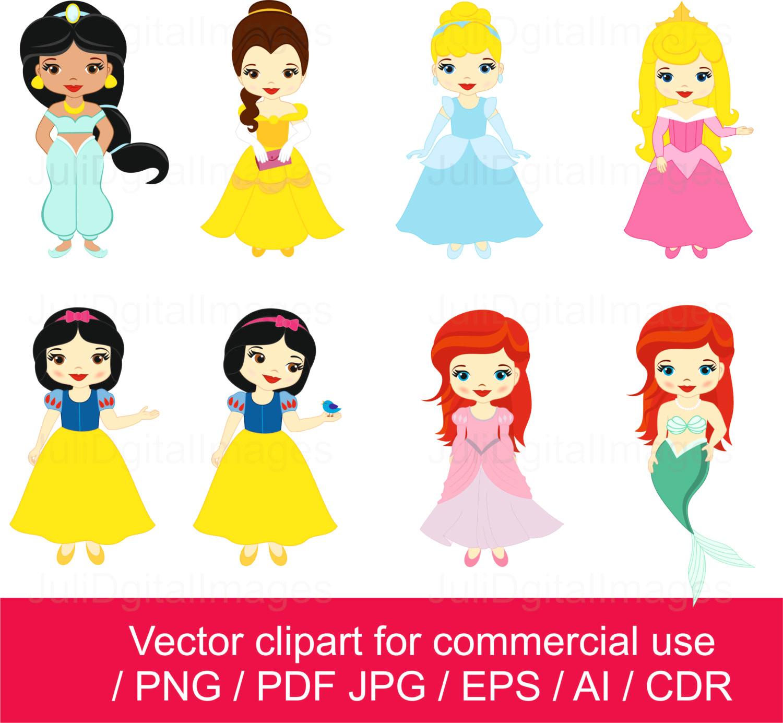 1500x1385 Princesses Clipart Little Princess Vector With Disney Cinderella