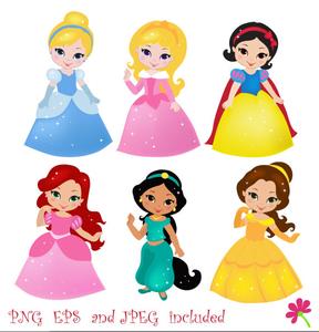 288x300 Disney Free Clipart Princess Free Images