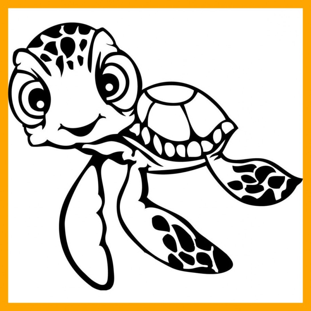 1089x1089 Amazing Vector Finding Nemo Coloring Pages Bing Cricut Image Of