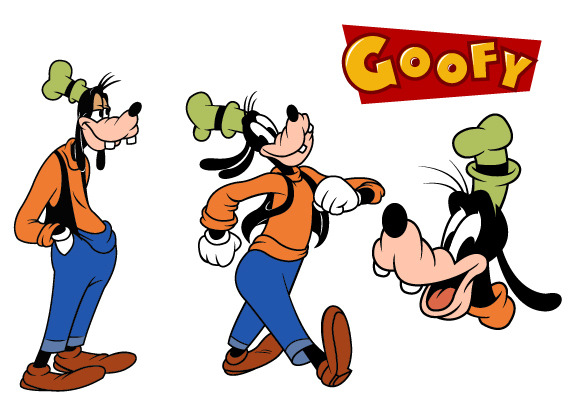 572x407 Goofy Disney Vector Free Vector Download In .ai, .eps, .svg Format