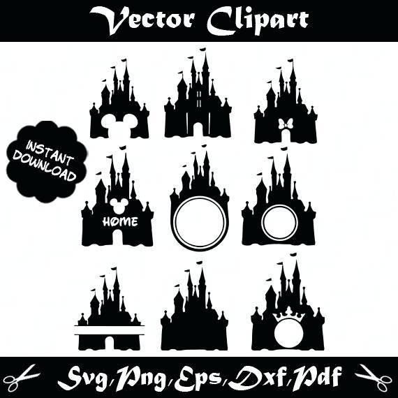 570x570 Disney Castle Vector Disney Castle Vector Art