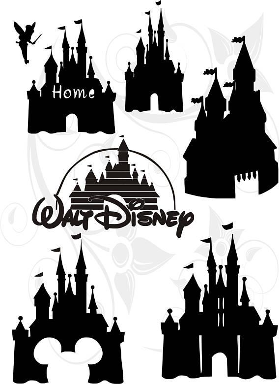 570x780 Disney Home Clipart Black And White Amp Disney Home Clip Art Black
