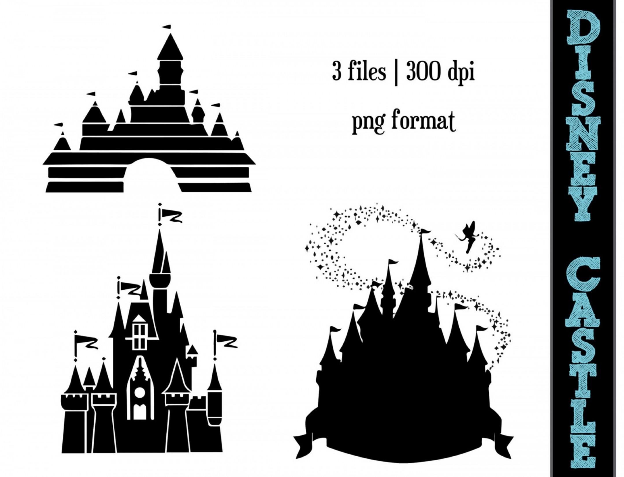 2160x1653 Mesmerizing Disney Castle Silhouette Clip Art Spooky Vector
