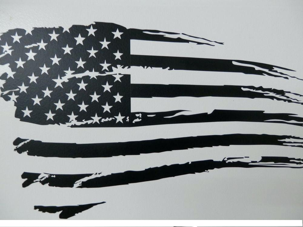 1000x750 Distressed American Flag Vector Cut File T Shirt Fromthesix