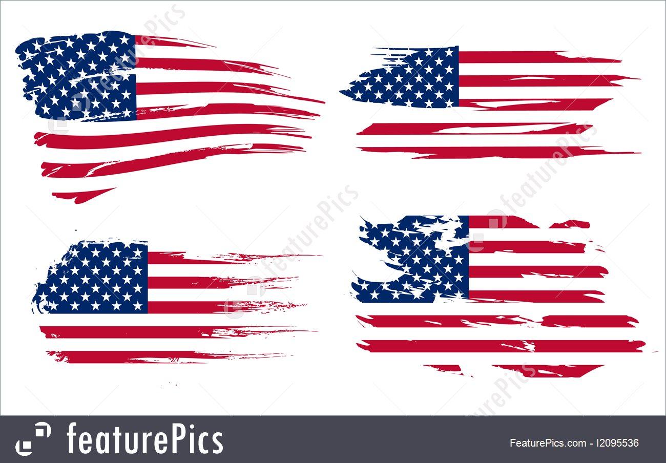 1300x904 American Flag Background