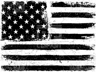 400x300 Grunge Style Usa Flag Vector Image Vector Artwork Of Signs