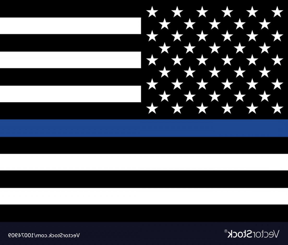 1200x1023 Police Law Enforcement American Flag Vector Lazttweet