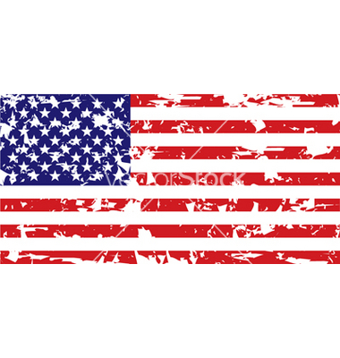 380x400 United States Distressed Flag Graphic Black And White Stock