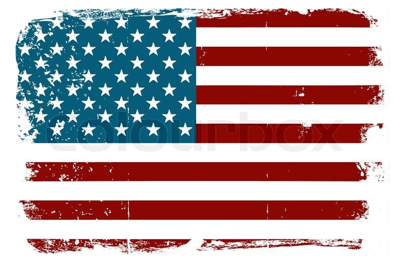 800x533 Vintage American Flag Stock Vector Colourbox