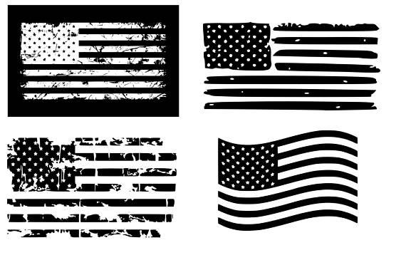 570x372 American Flag Svg Distressed American Flag Svg Usa Flag Svg 4th Of