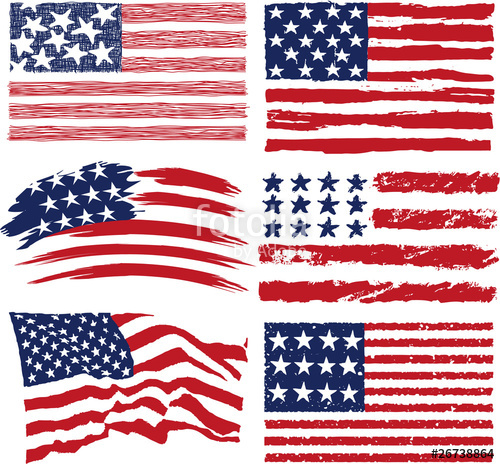 500x464 American Flags Stock Image And Royalty Free Vector Files On
