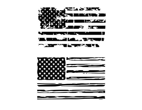 570x440 American Flag Svg Distressed American Flag Svg Usa Flag Svg