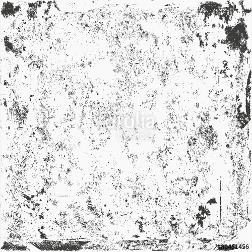 500x500 Distress Overlay Texture For Your Design. Black And White Grunge