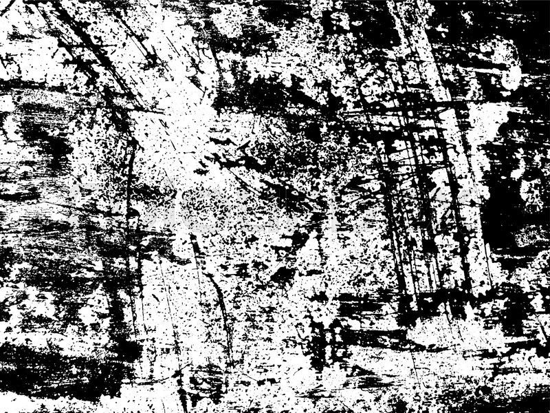 800x600 Scratched Texture Overlay. Distressed Texture. Black And White